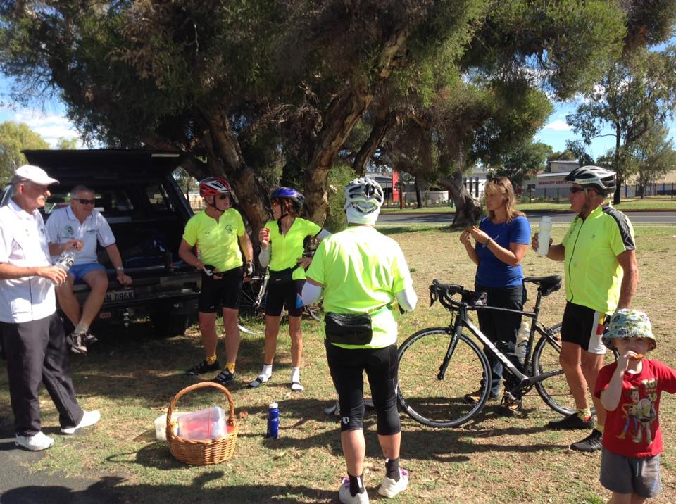 Refueling at Bunbury Racecourse
