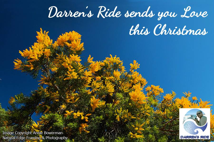 Christmas Greetings from Darren's Ride