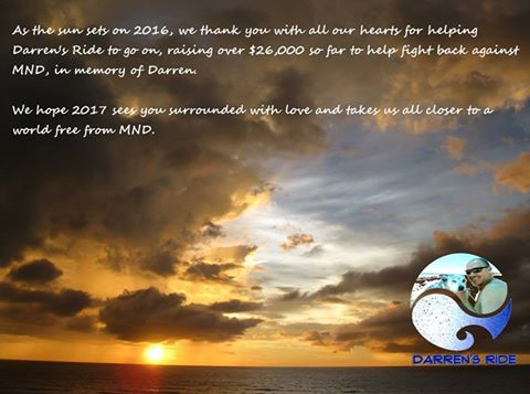 New Year Greetings from Darren's Ride